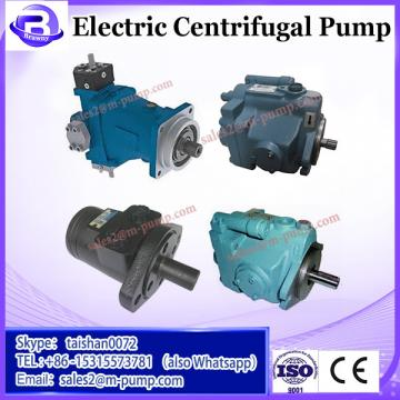Submersible electric centrifugal water pump