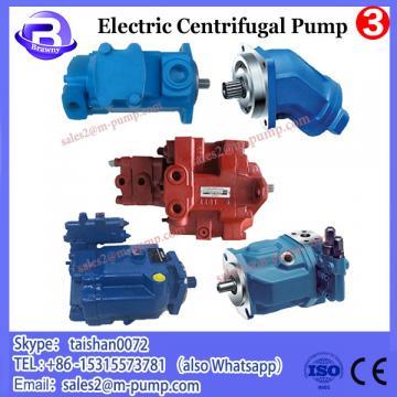 Centrifugal electric motor pump for phosphoric acid powder
