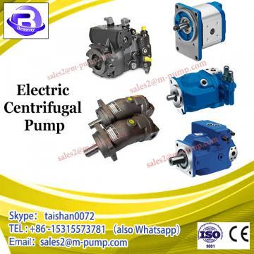 Electric Motor Driver Centrifugal Pump